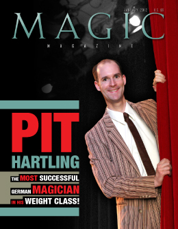 MAGIC Magazine Janaury 2012 Cover