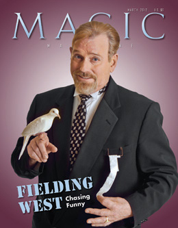 MAGIC Magazine March 2012 Cover