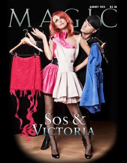 MAGIC Magazine August 2013 Cover