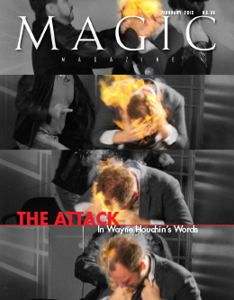 MAGIC Magazine Month Year Cover