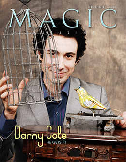 MAGIC Magazine January 2013 Cover
