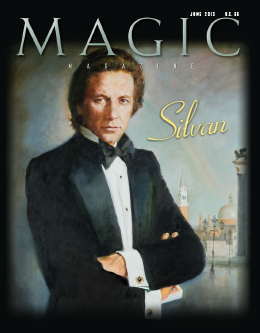 MAGIC Magazine June 2013 Cover