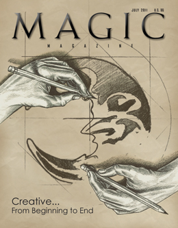 MAGIC Magazine July 2011 Cover