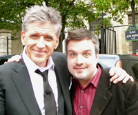 Craig Ferguson and Rafael