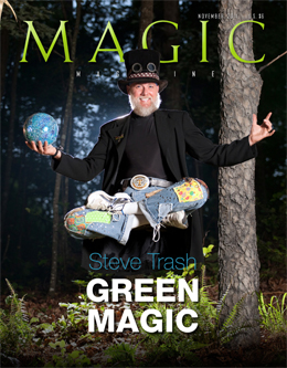 MAGIC Magazine November 2011 Cover