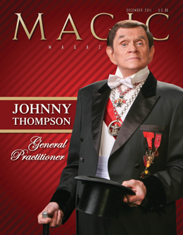 MAGIC Magazine December 2011 Cover